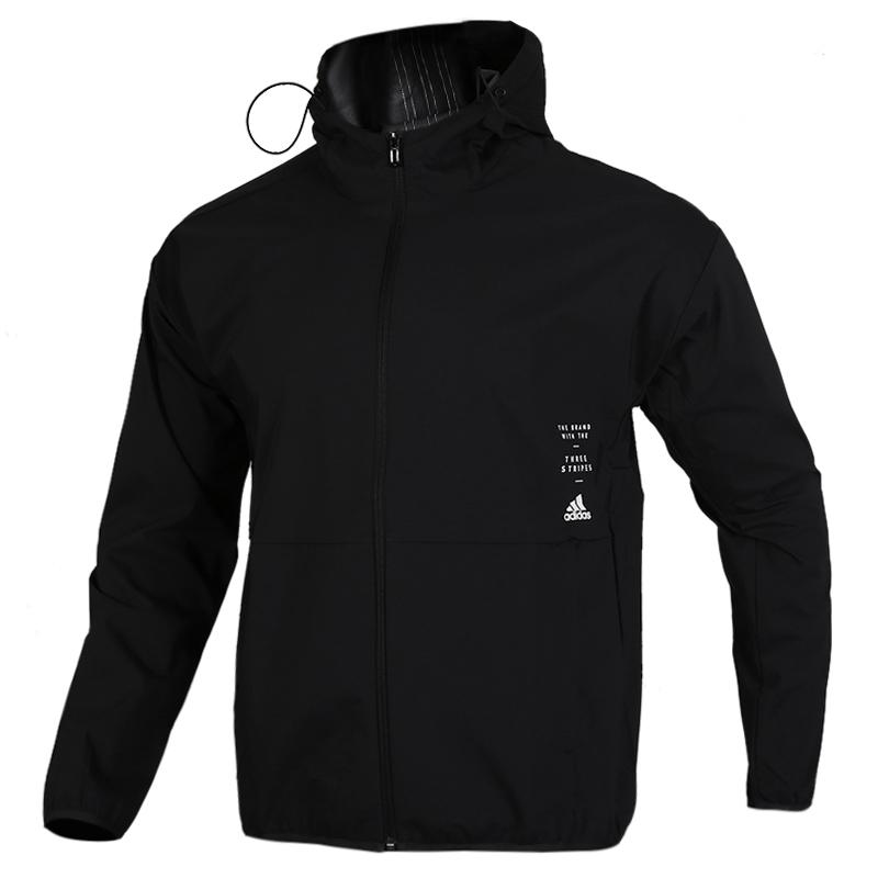 阿迪达斯 adidas 男子 透气防风快干休闲服梭织夹克外套 ED1942