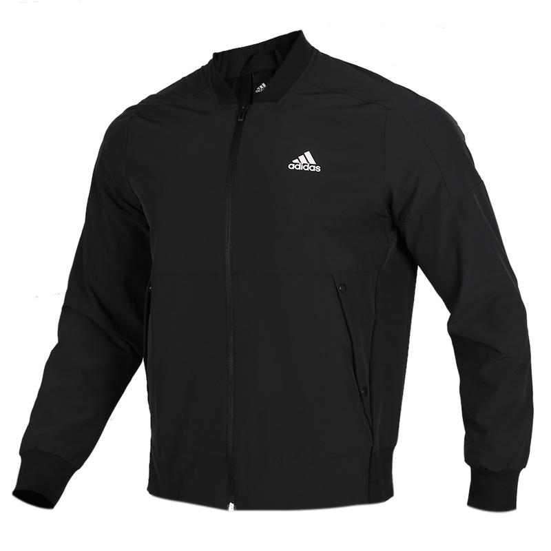 TZ  阿迪达斯 adidas  男子 立领运动服休闲修身夹克上衣 EH3778  +  运动裤针织收口长裤子  EH3769