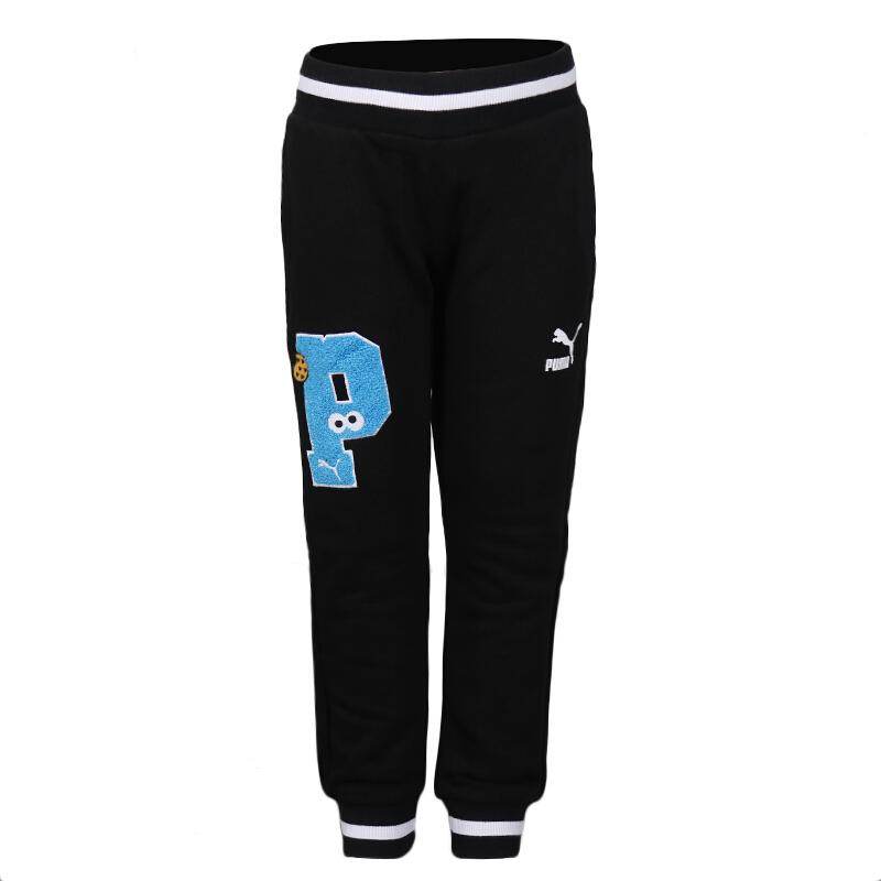 彪马 PUMA Sesame Street Sweat Pants 儿童  针织长裤 580356-01