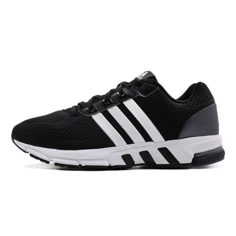 阿迪达斯Adidas  男鞋 EQT运动鞋休闲缓震耐磨透气轻便低帮网面跑步鞋子 B96491