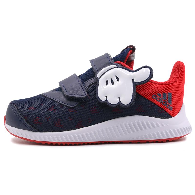 阿迪达斯 adidas DY Mickey FortaRun CF I 儿童 舒适透气耐磨时尚潮流休闲鞋 CQ0111