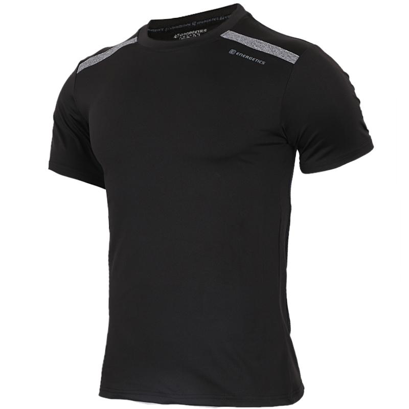 能量 ENERGETICS 男子 运动透气跑步短袖T恤 276636-900050