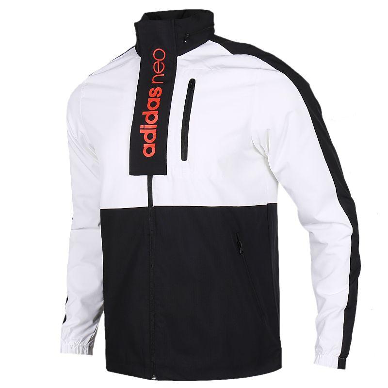 TZ  阿迪生活 Adidas  男子 优选套装 舒适透气防风时尚休闲运动夹克梭织外套 FK9944 + 针织长裤 EI4734
