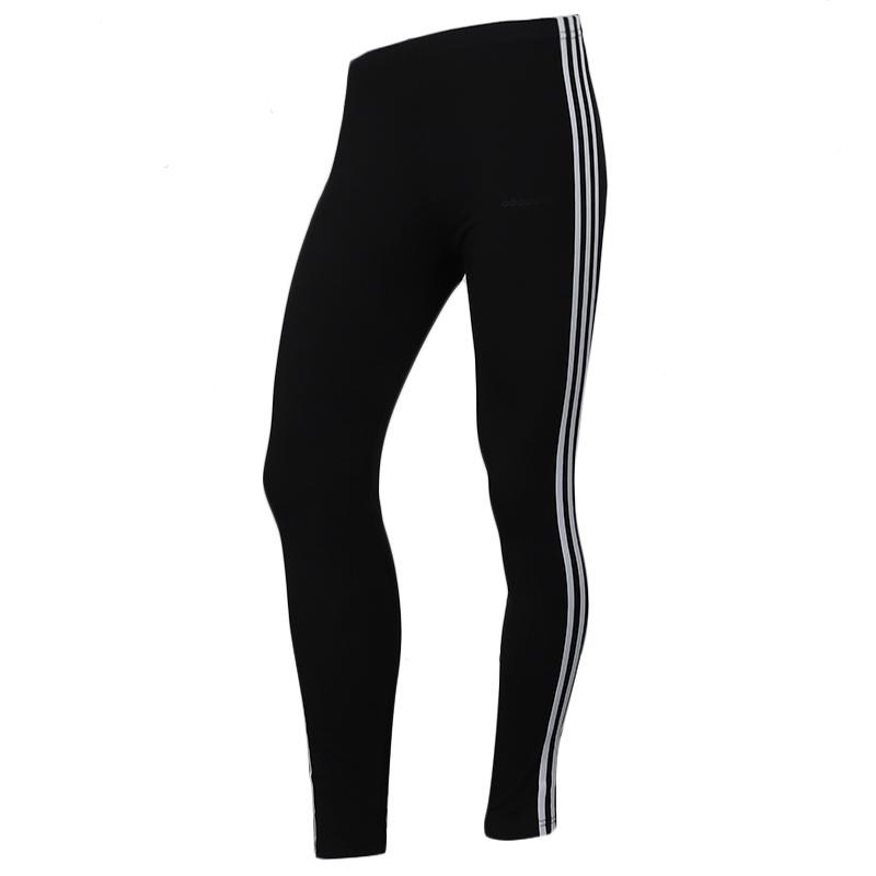 阿迪生活 Adidas NEO CS SV LG 女子 舒适透气休闲针织弹力紧身长裤 EI4286