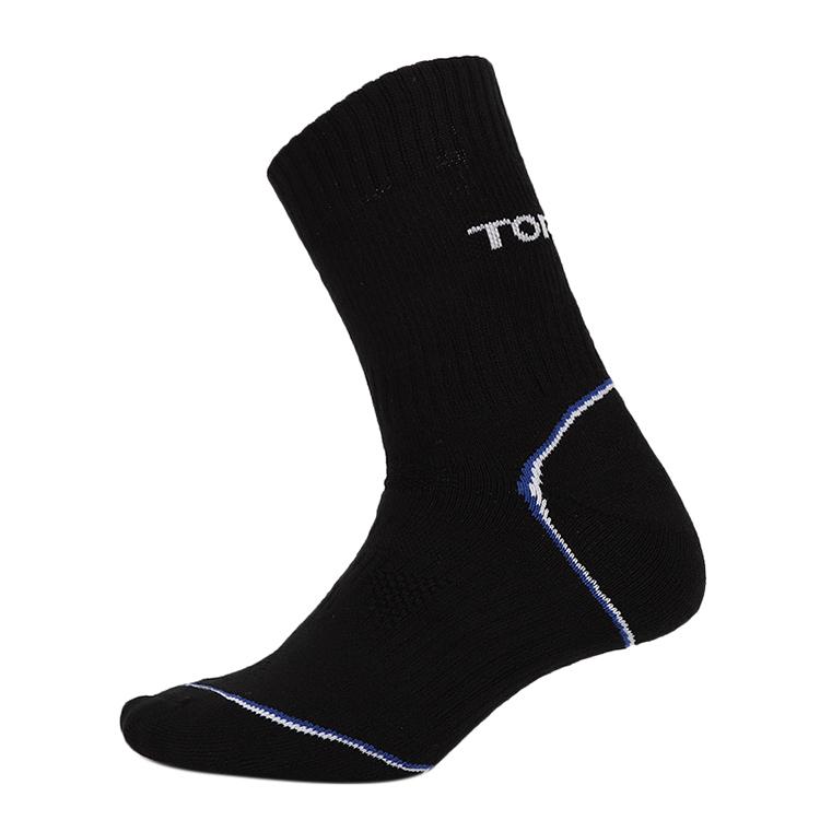 探路者 TOREAD  男女 运动袜跑步健身舒适透气吸湿排汗休闲袜子  TELH91335-G01G