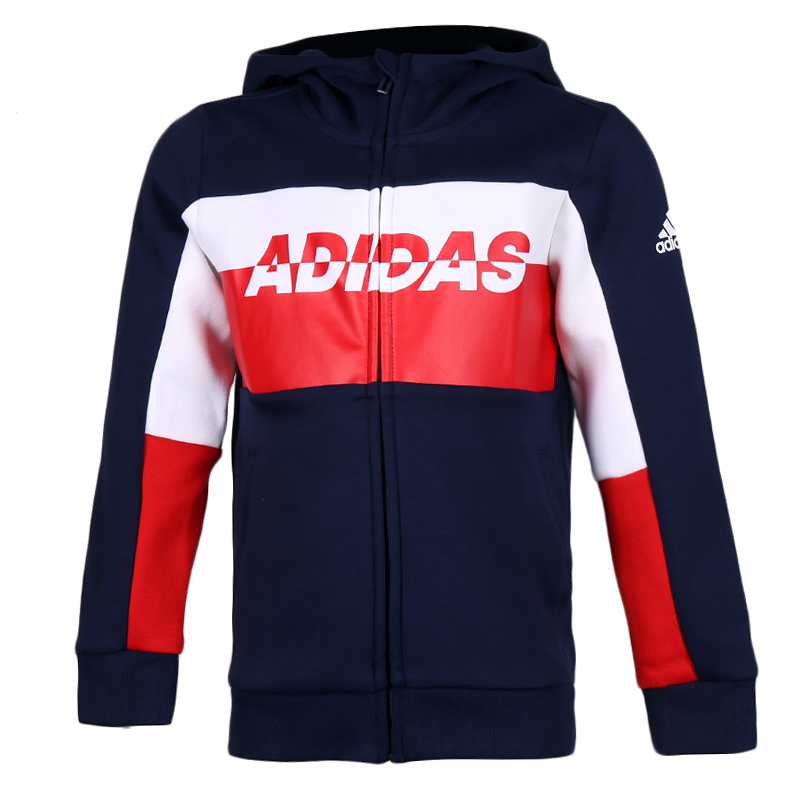 阿迪达斯 adidas LB KN JKT 儿童 针织夹克 FN3311