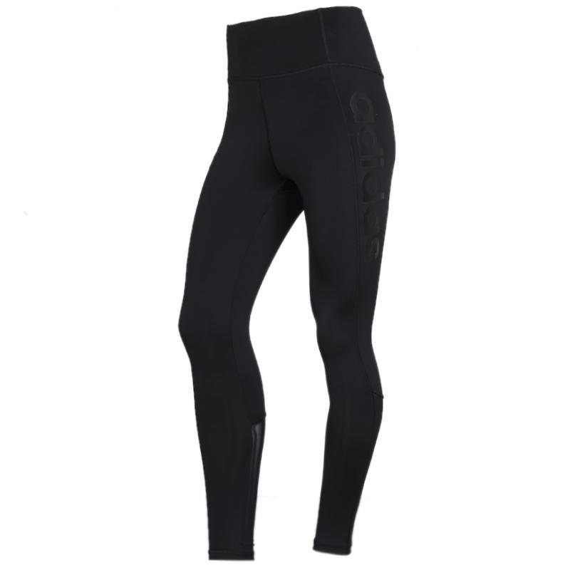 阿迪达斯 adidas 女子 训练跑步紧身裤舒适耐磨休闲长裤打底裤 DS8710