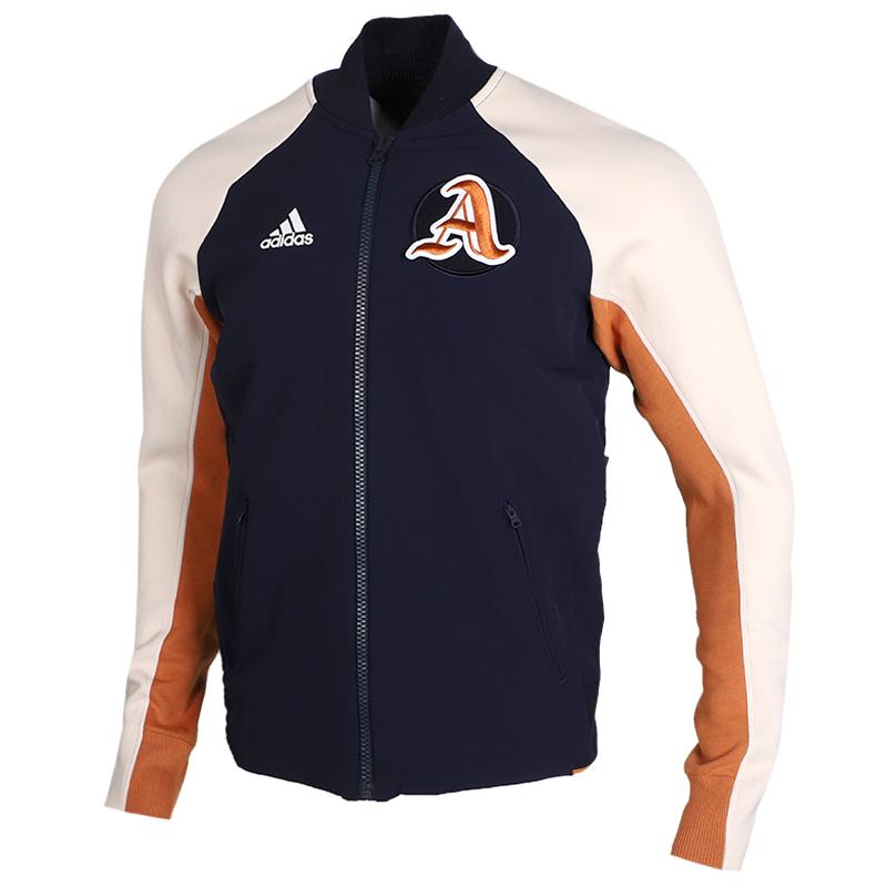 TZ  阿迪达斯 adidas 男子 休闲透气棒球服夹克外套DX8408 + 休闲针织长裤 EB5248