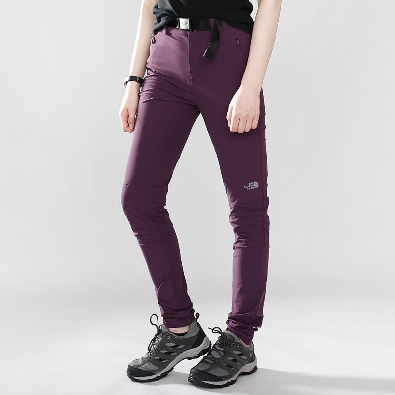 北面  TheNorthFace  LIGHTEN SLIM PANT - AP 女子 运动长裤 梭织长裤 2XU1NXE