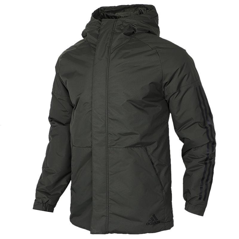 阿迪清仓  阿迪达斯 adidas  男子 运动服保暖防风舒适休闲外套棉服 DZ1429