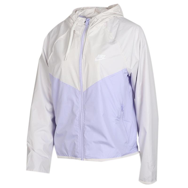 耐克 NIKE 女子 风行者运动休闲梭织防风衣夹克外套  BV3940-030