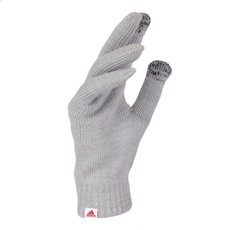 阿迪达斯 adidas PERF GLOVES 中性 休闲保暖针织跑步训练手套 DZ8922