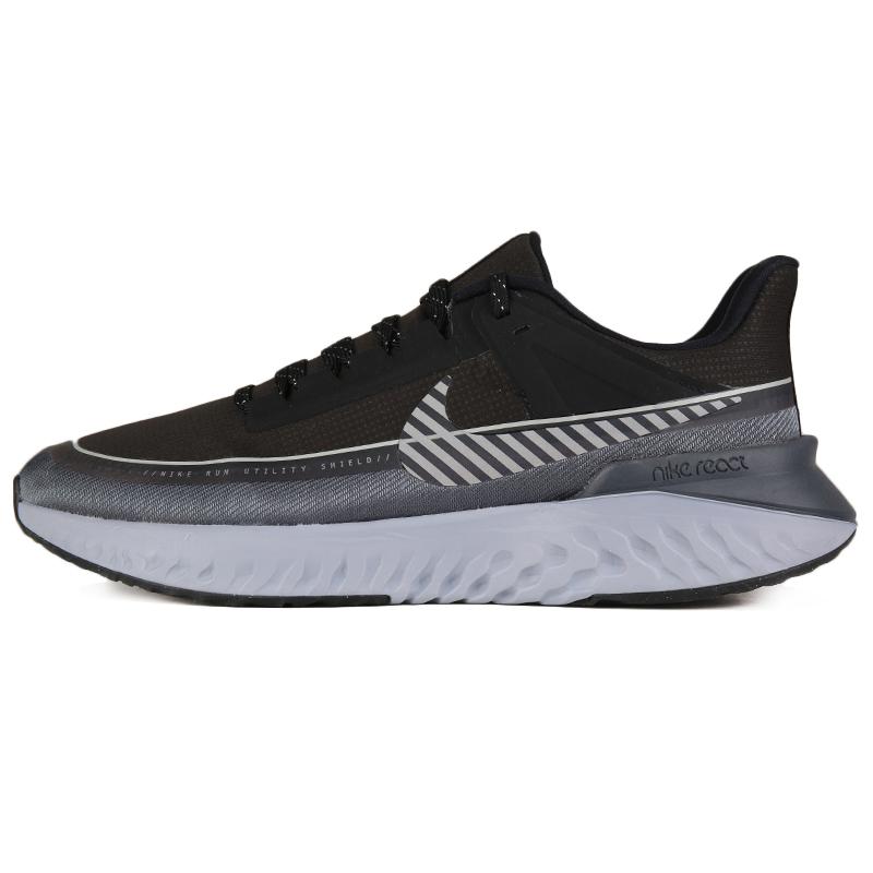 耐克 NIKE LEGEND REACT 2 SHIELD 男子 缓震透气时尚休闲舒适耐磨路跑训练跑步鞋 BQ3382-001