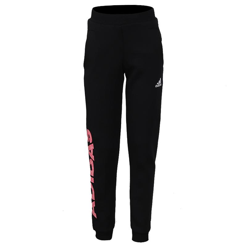 阿迪达斯 adidas LG SPACER PNT 儿童 时尚舒适运动裤跑步训练健身透气休闲针织长裤 EH4088