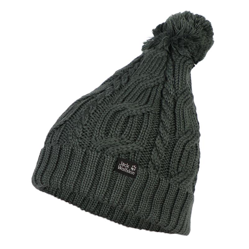 狼爪 Jack wolfskin  男女 户外帽针织帽保暖毛线帽子 1905091-6037