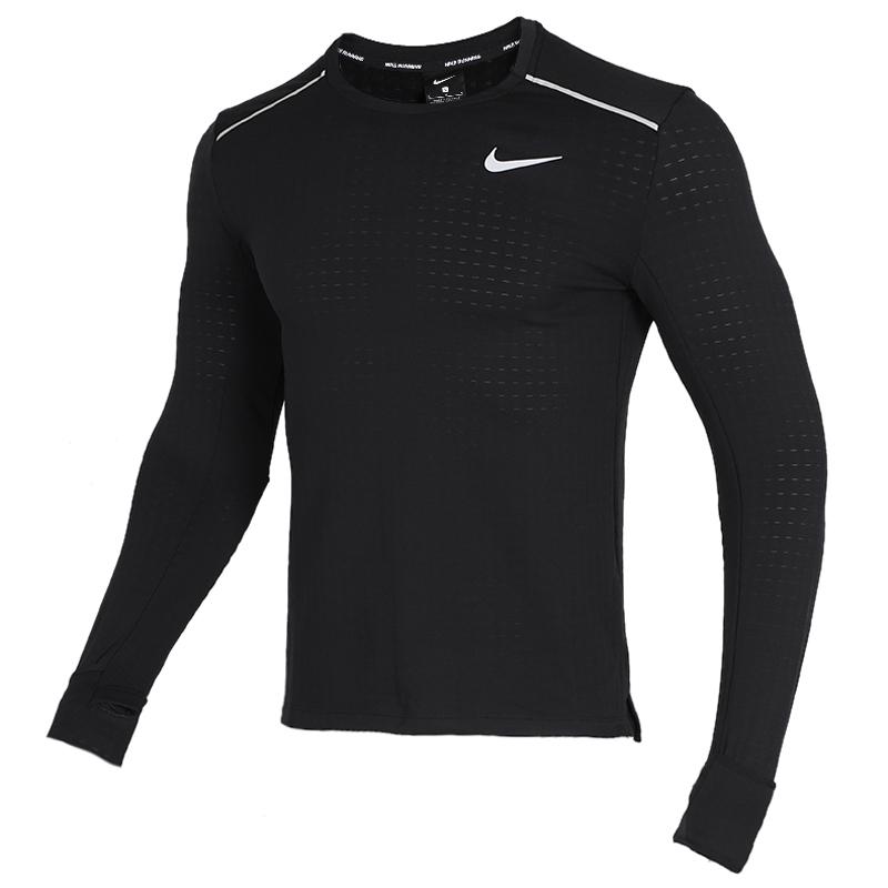 耐克 NIKE 男子 健身快干透气舒适休闲长袖T恤 BV4708-010