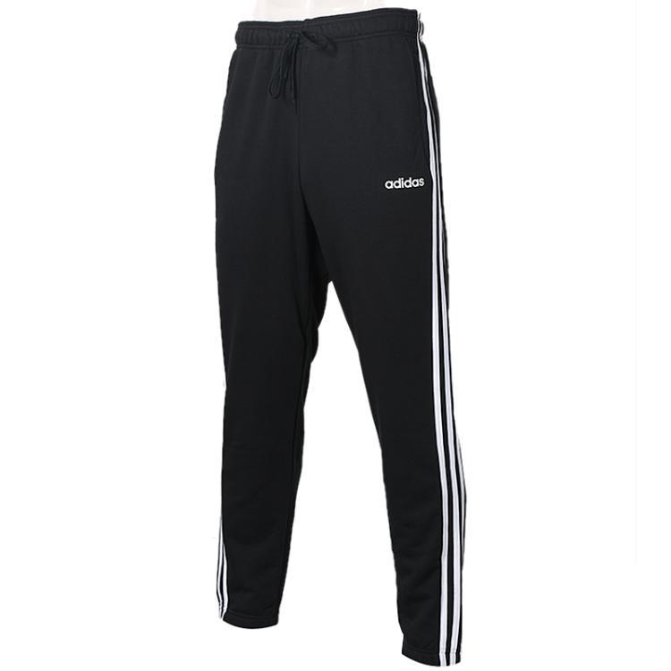 adidas 阿迪达斯 男子 经典三条纹长裤舒适透气休闲运动直筒针织长裤  DQ3078