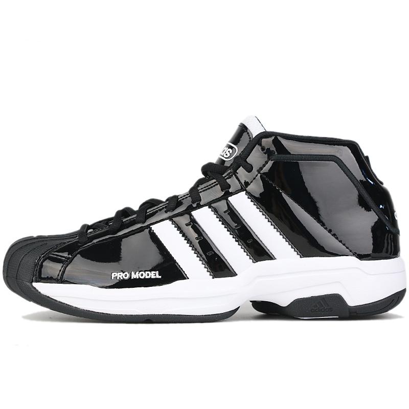 阿迪达斯 adidas Pro Model 2G 中性  跑步训练舒适缓震耐磨时尚贝壳头实战篮球鞋 EF9821  EF9824