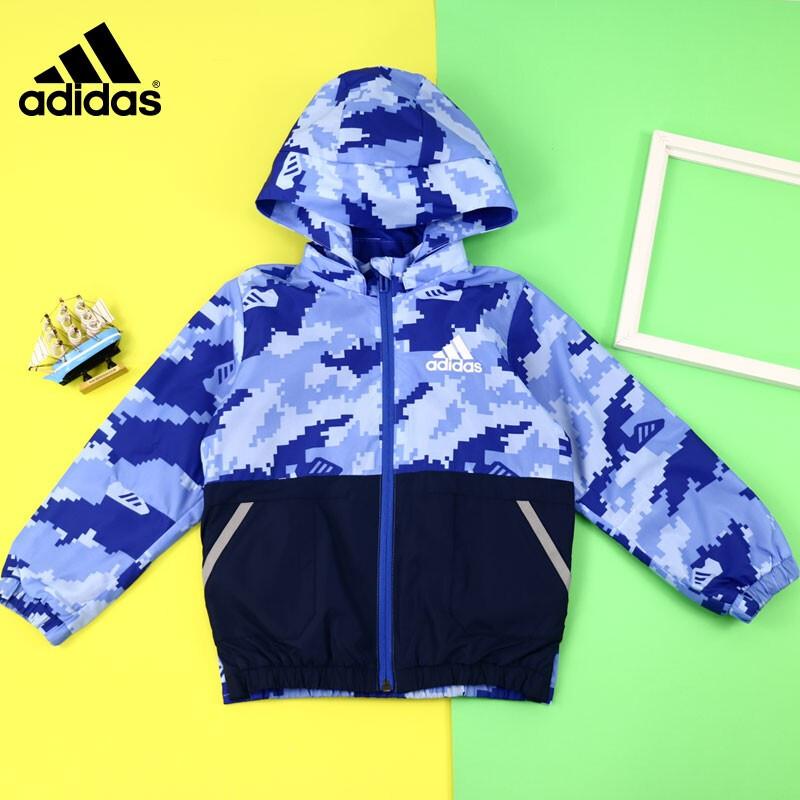 阿迪达斯 adidas LB LW WV JKT 儿童 夹克外套  EH4030