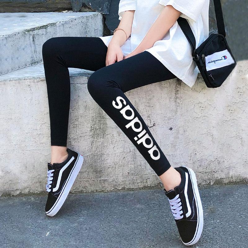 阿迪达斯Adidas 女子 外穿瑜伽紧身裤健身运动裤修身小脚裤长裤 FP7879