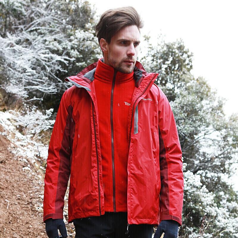 探路者 TOREAD 男子 舒适保暖外套三合一冲锋衣  KAWF91603-A21A