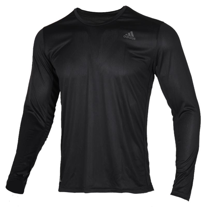 阿迪达斯 adidas 男装 运动训练健身跑步长袖T恤 ED9286