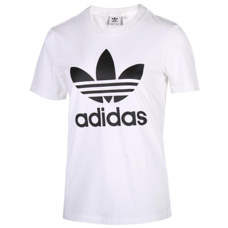 阿迪达斯三叶草adidas 女装 透气运动短袖T恤 FM3306