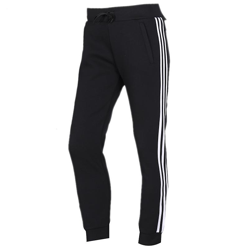 阿迪达斯 adidas 女装 三条纹时尚休闲针织长裤 FM9308