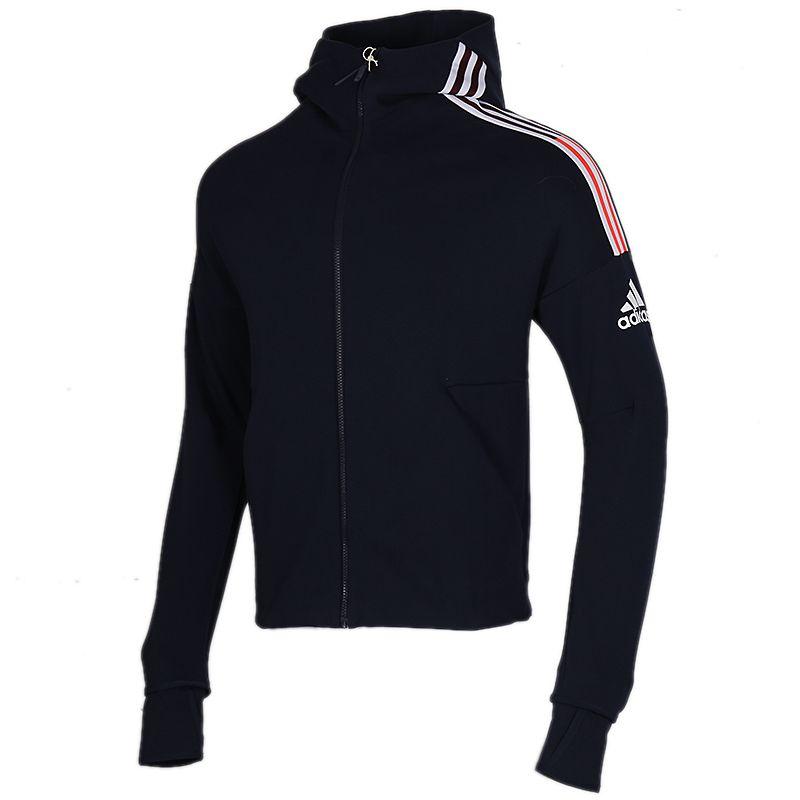 阿迪达斯 adidas ZNE hd 3ST 男装 运动跑步训练透气舒适防风休闲学生外套针织夹克 FI7976 FQ7230