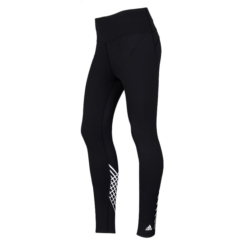 阿迪达斯 adidas BT TORCH LONG T 女装 运动裤健身瑜伽跑步休闲时尚卫裤紧身裤长裤子 FJ7185