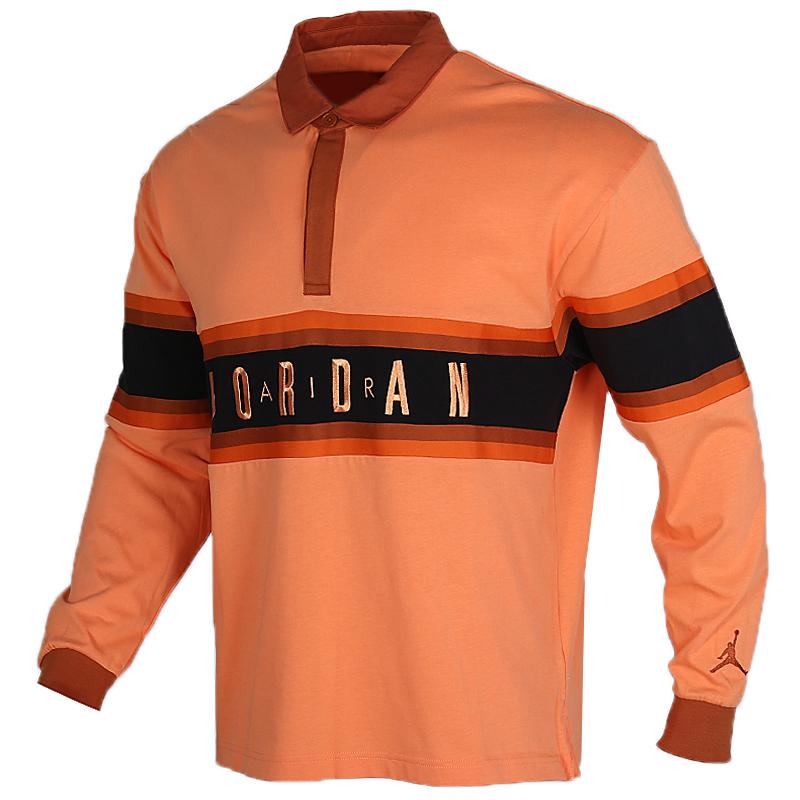 耐克 NIKE 男装 运动跑步训练健身透气POLO衫舒适休闲长袖T恤 BQ5670-854