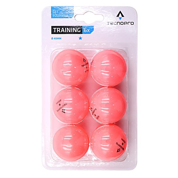 TECNOPRO 训练比赛兵乓球 6只装236158-391