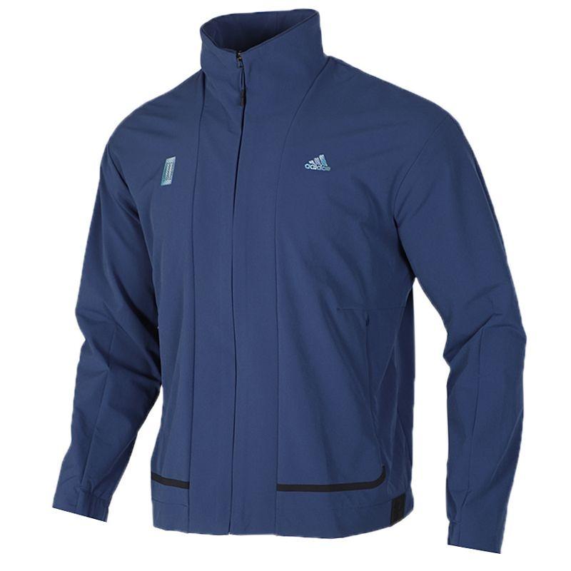 阿迪达斯 adidas 男装 运动服跑步透气舒适防风休闲工装立领外套夹克 FM9358