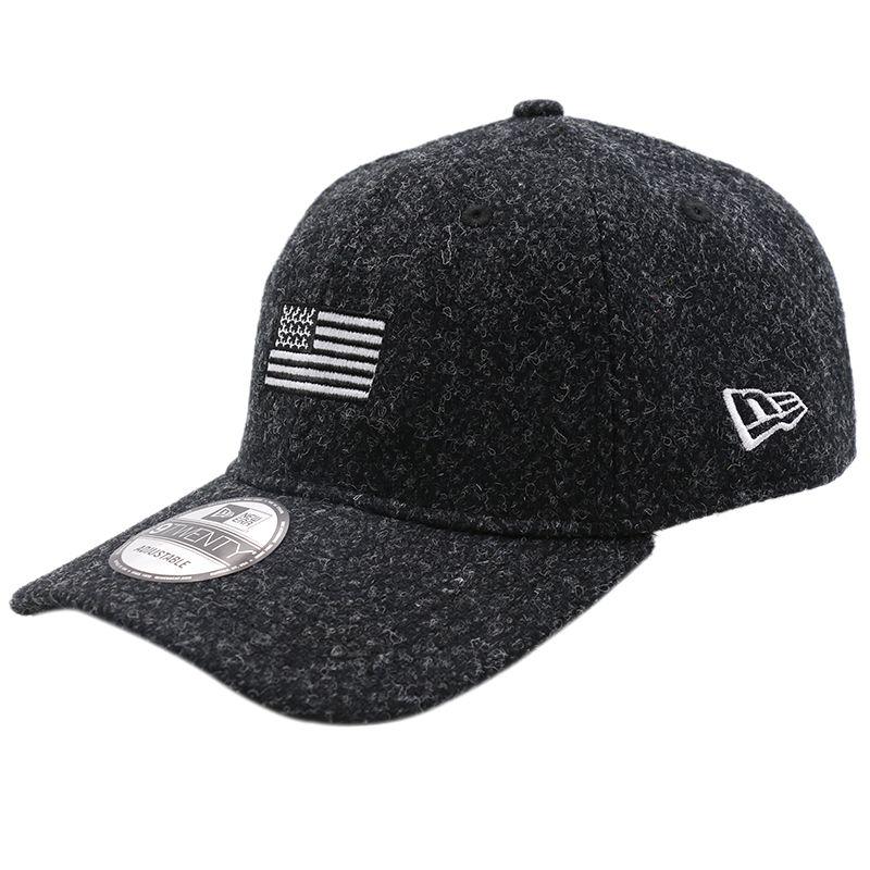 New Era 9TWENTYHARRIS TWEEDNEW ERABLACK 男女 帽子 休闲帽 11538536