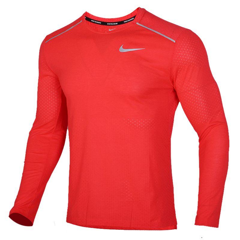 耐克 NIKE 男装 训练健身舒适圆领休闲时尚运动长袖T恤 AQ9924-644