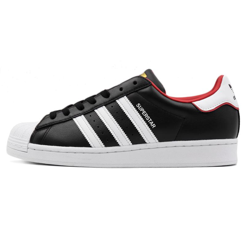 阿迪达斯 adidas 男鞋 运动鞋复古时尚耐磨舒适透气板鞋休闲鞋 FW6385