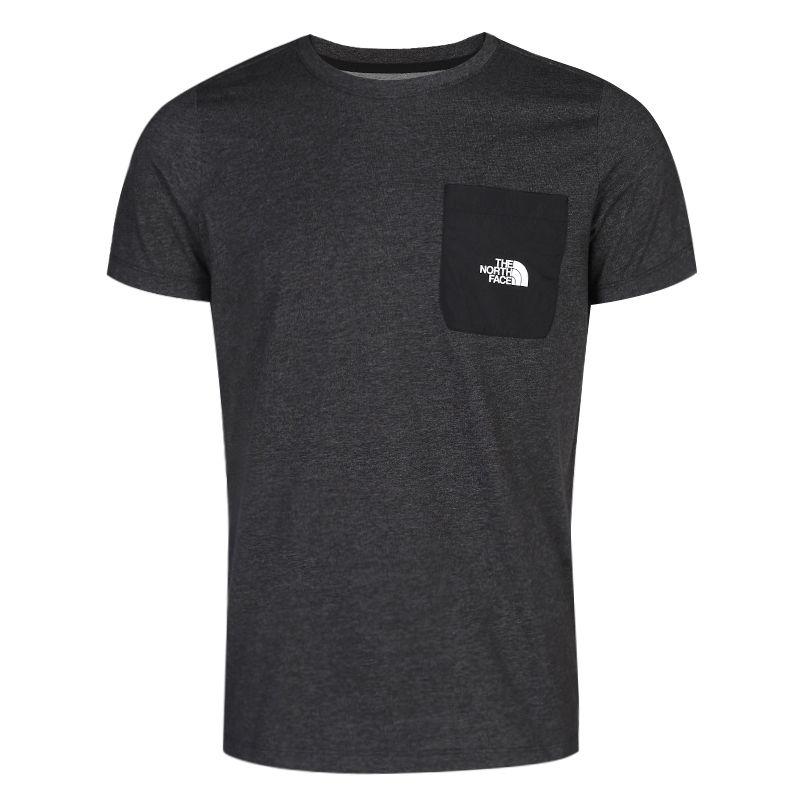 北面TheNorthFace 男装 运动服跑步训练健身透气休闲圆领短袖T恤 498UKS7