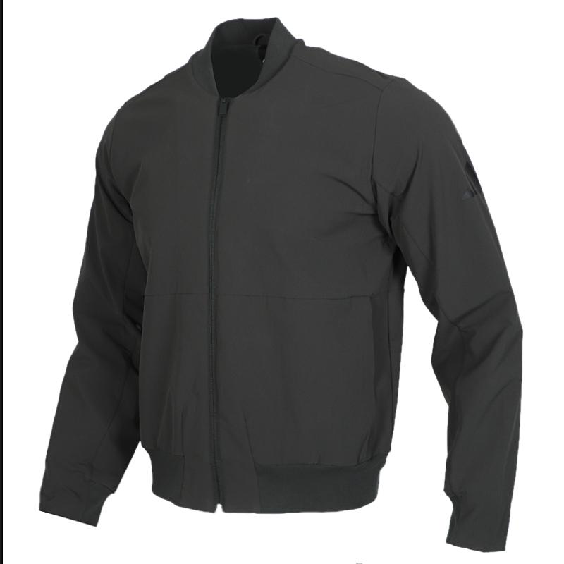 阿迪达斯 adidas AI JKT BOMB  WA 男装 运动服跑步训练健身透气舒适立领防风休闲外套夹克 FM9423