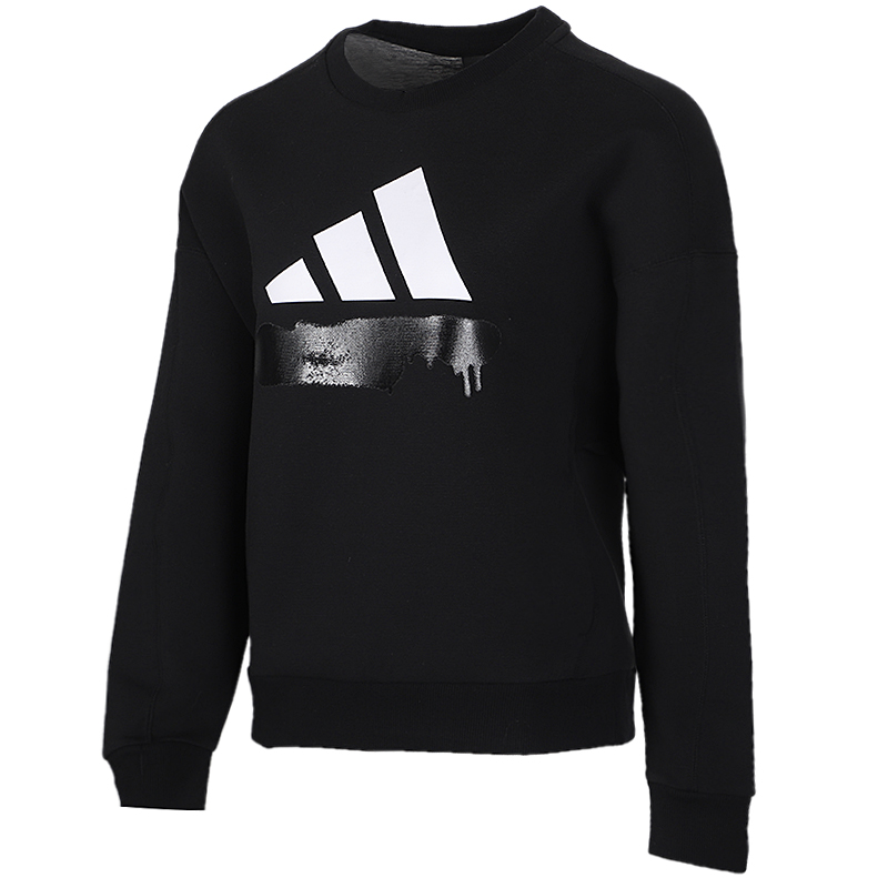 阿迪达斯 adidas 女装 时尚舒适运动服跑步训练健身休闲卫衣套头衫 GG3394
