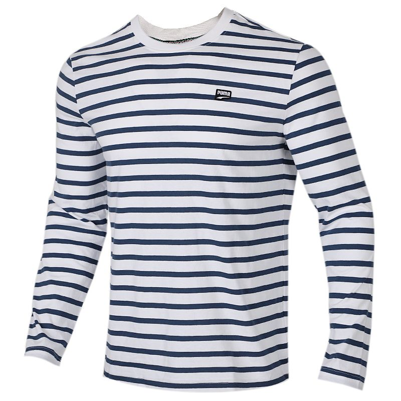 彪马 PUMA 男装 运动服跑步训练健身快干透气舒适休闲时尚长袖T恤 582948-43