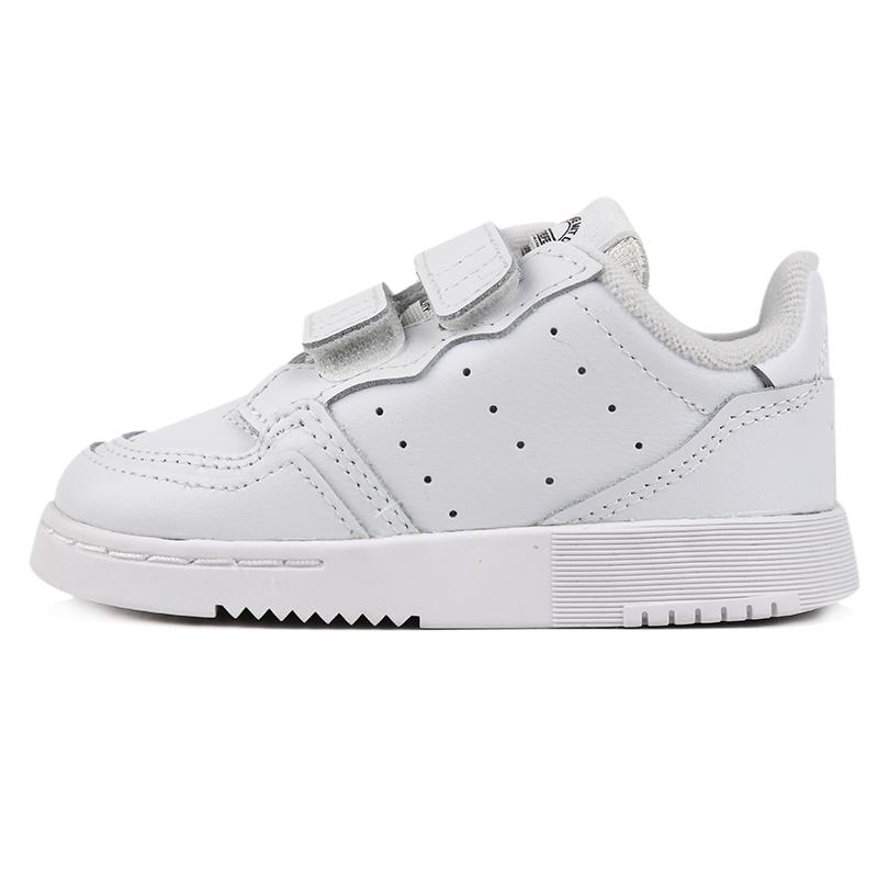 阿迪达斯 adidas 儿童 运动鞋复古时尚耐磨舒适透气休闲鞋板鞋 EG0413
