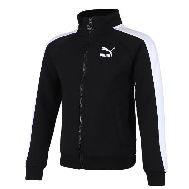 彪马 PUMA  儿童 运动服跑步训练健身透气舒适防风休闲外套针织夹克 580424-01