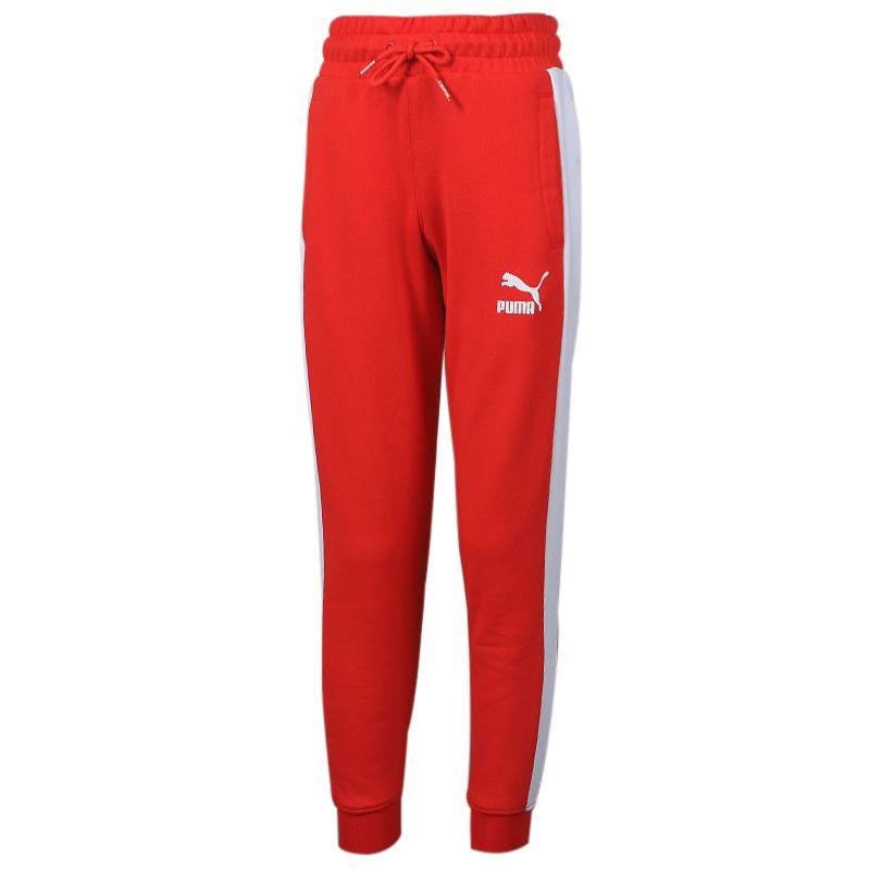 彪马 PUMA Iconic T7 Track Pants TR B 儿童 运动裤跑步训练健身舒适透气休闲针织长裤 580425-11