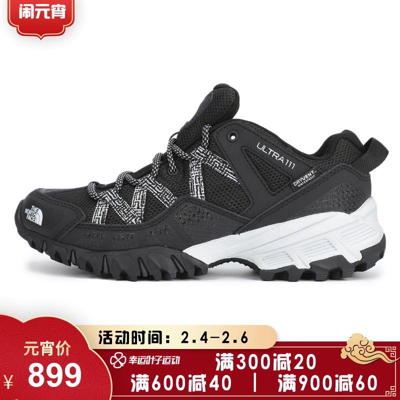 北面乐斯菲斯 TheNorthFace ULTRA 111 WP 女鞋 户外运动鞋越野登山耐磨透气慢跑鞋徒步鞋 46CKKY4