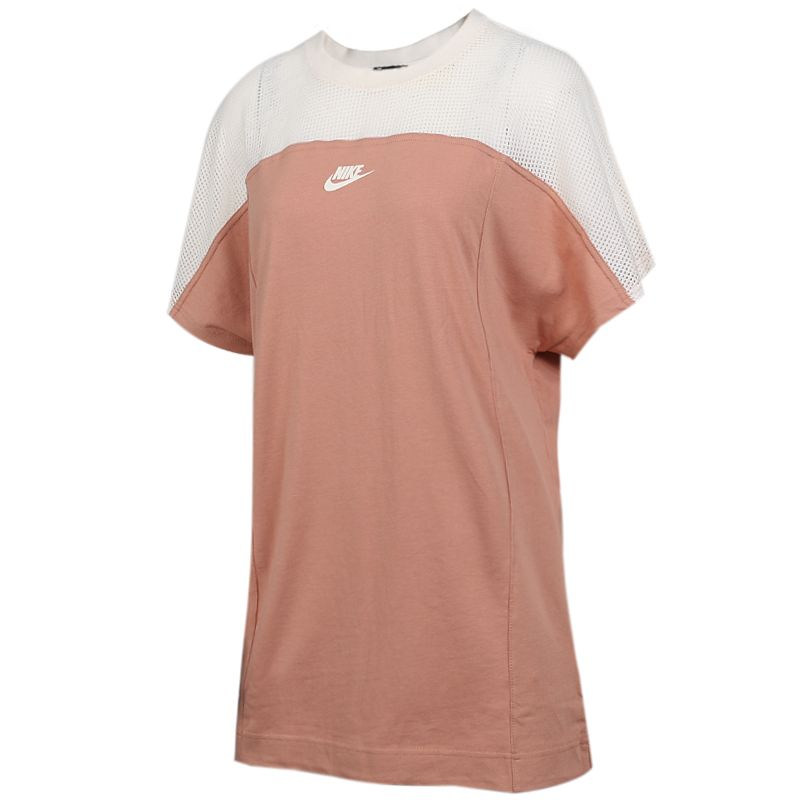 耐克 NIKE 女装 网纱透气休闲时尚拼色运动休闲连衣裙 AR2405-605