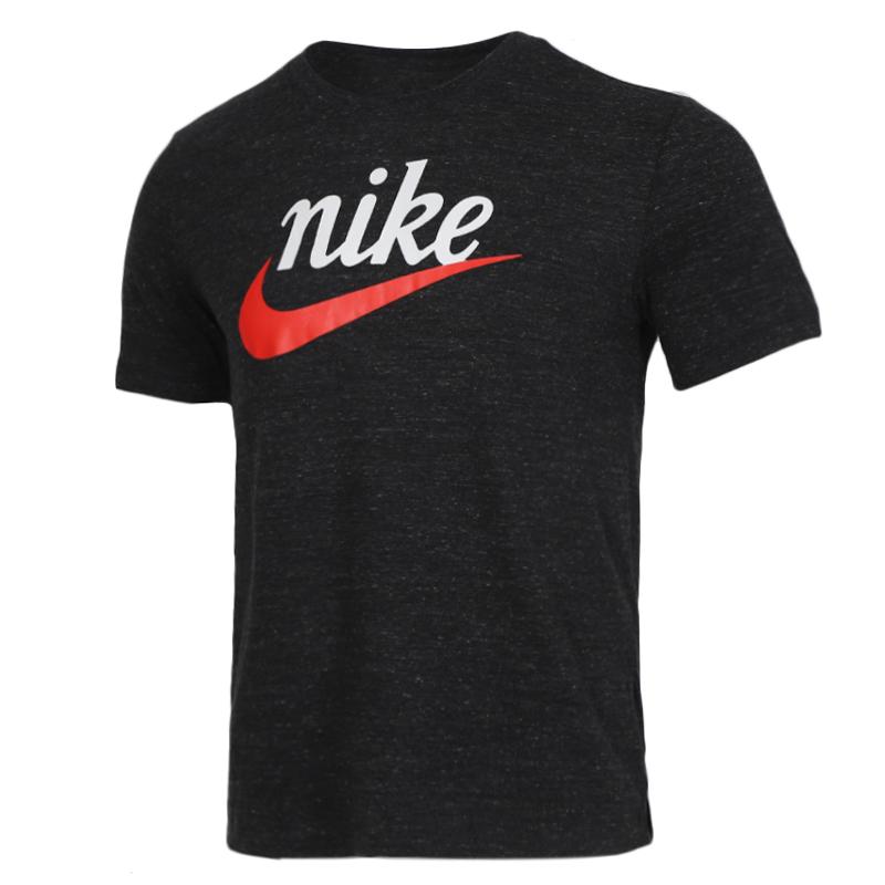 耐克 NIKE 男装 动休闲舒适透气圆领短袖跑步训练T恤 CK2382-010