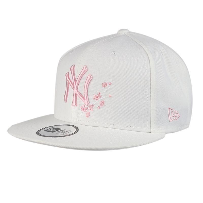 New Era 男女 950可调节平檐鸭舌帽樱花设计 休闲帽 12361617
