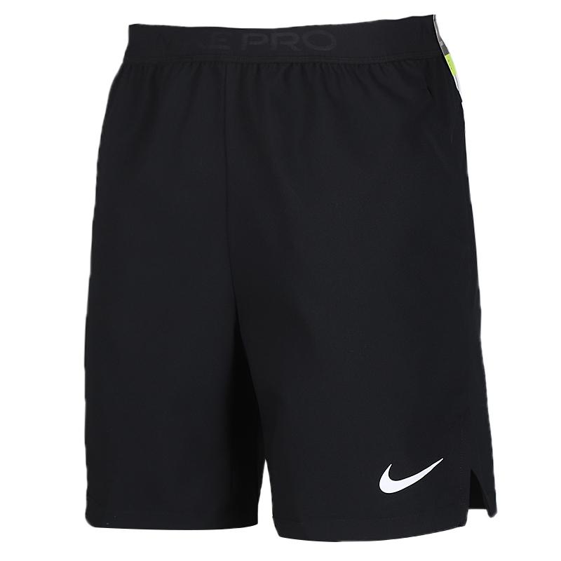 耐克 NIKE  男装 运动裤篮球训练健身舒适快干透气休闲五分裤梭织短裤 CJ1958-010