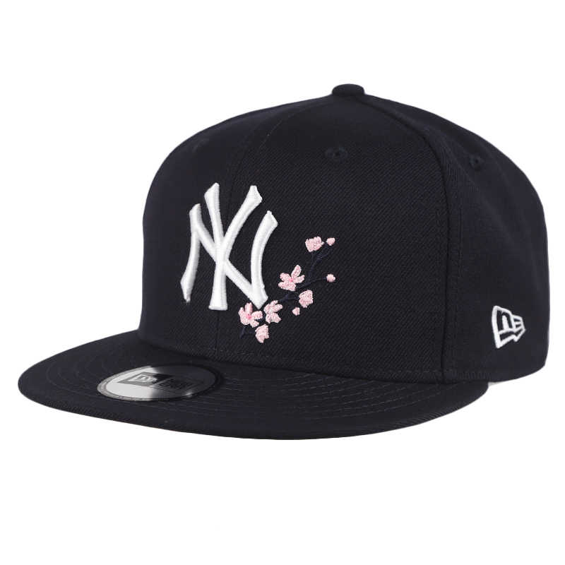 New Era  男女 950可调节平檐鸭舌帽丨樱花设计休闲帽 12361618  12361617