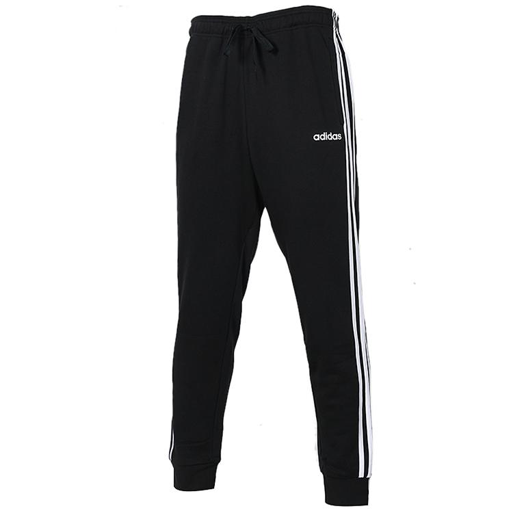adidas 阿迪达斯 男子 2020冬季新款运动裤跑步训练收口小脚卫裤针织长裤DU0468